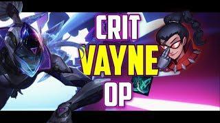 Vaysu |  CRIT VAYNE IS OP 1VS5  CARRY - LEAGUE OF LEGENDS