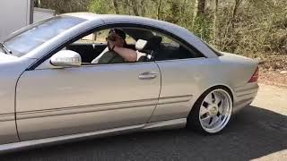 CL 500 Straight Pipes brutal Sound