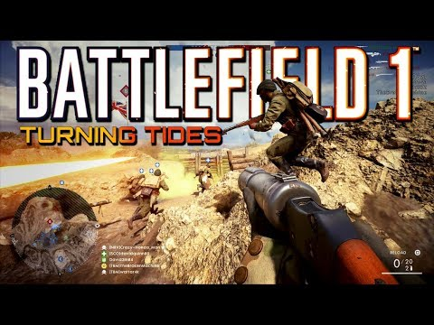 Battlefield 1: Flawless Infiltrator Class Killstreak On Turning Tides DLC! (PS4 PRO Gameplay)