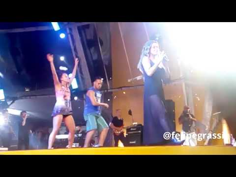 "Daniela Mercury ""We are the world of carnaval"" - Palco Skol - Salvador 25/02/2017"