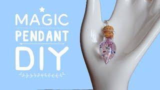волшебный кулон DIY - эпоксидка  Magic pendant DIY  Masherisha