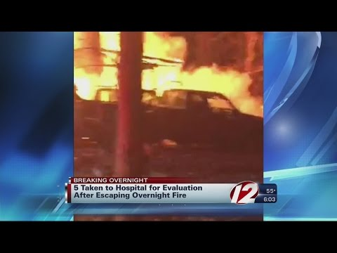 Fire destroys South Kingstown home