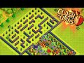 """THE MAZE BASE!"" - Clash of Clans - WEIRD TROLL BASE! Trolling Noobs in the Maze!"