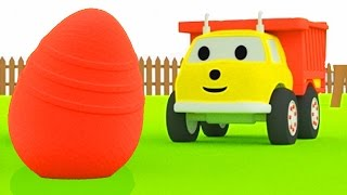 The egg hunt: : learn colors with Ethan the Dump Truck  | Educational cartoon for kids & toddlers