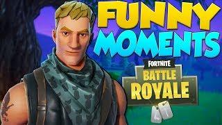 Fortnite Battle Royale Funny Moments - GETTING DESTROYED!!