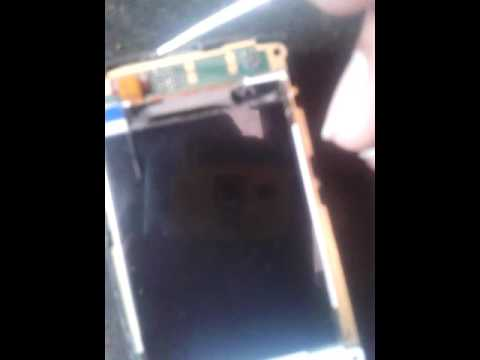 Nokia x2-05 display lighting problem