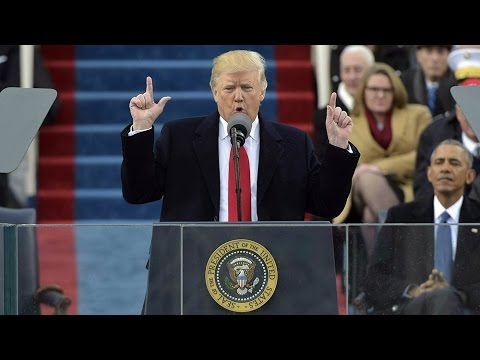 President Donald Trump's inauguration speech
