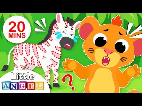Baby Lion Sings Hakuna Matata | Jungle Animals Songs for Kids & Nursery Rhymes by Little Angel