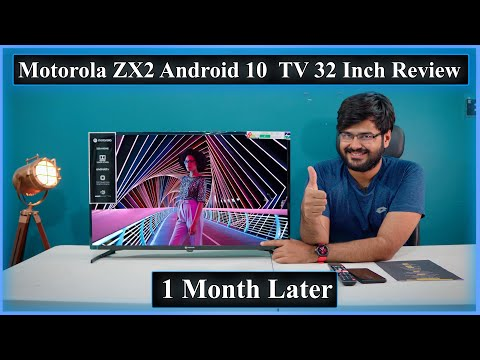 Motorola ZX2 32 Inch Android 10 Smart LED TV Detailed Review After 1 Month