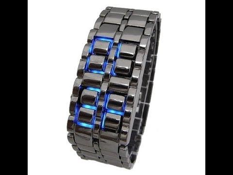 Iron Samurai LED часы-браслет