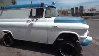 Ultra RARE!!  1957 GMC 100 Napco Panel Truck with 6,700 original miles!!