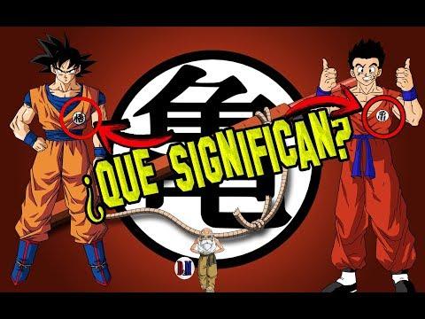 Significado de los símbolos de la ropa de Goku