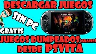 PSVITA | DESCARGAR JUEGOS DUMPEADOS DESDE LA CONSOLA | SIN PC | SIN CABLES | FACIL