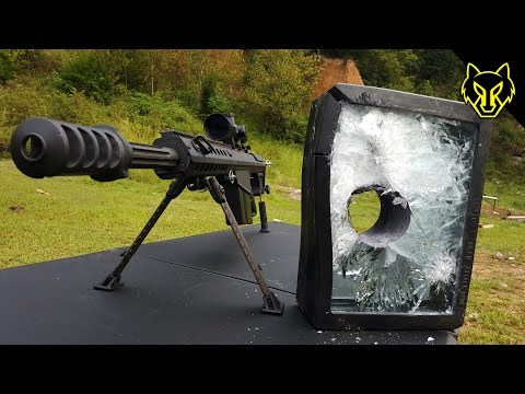 Will Bulletproof Glass Stop A .50 Cal?