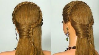 . Braided hairstyle for every day