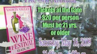 The 8th Annual Yadkin Valley Wine Festival