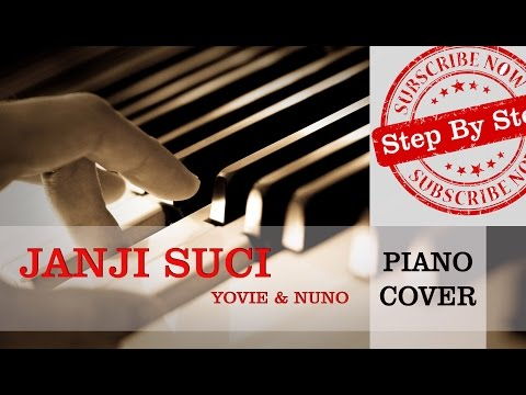 Yovie & Nuno - Janji Suci - Piano Cover & Easy Piano Tutorial