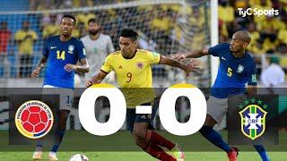 Colombia 0-0 Brasil   Eliminatorias a Qatar 2022