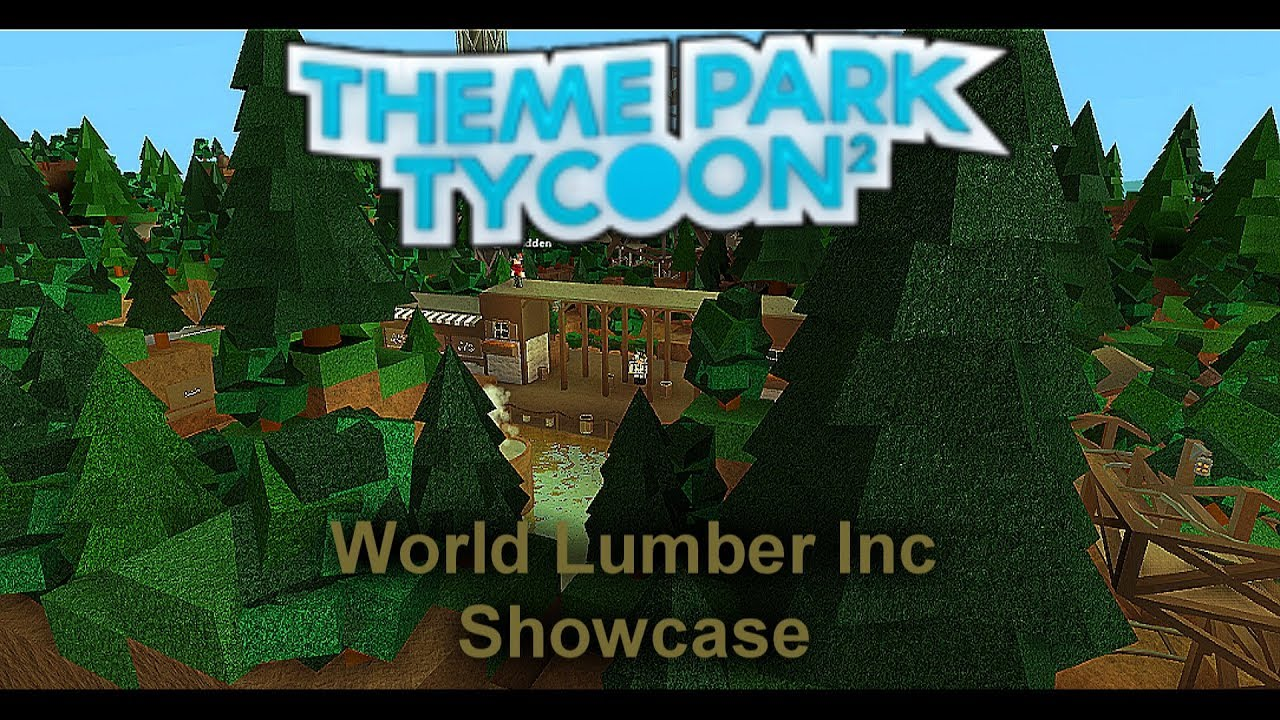Repeat Roblox | Theme Park Tycoon 2 Showcase | Wood Lumber