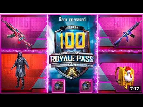 Season 11 Royal Pass 100 RP Maxed Out!! [ PUBG Mobile ] - BandookBaaZ