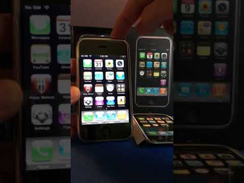 Original 2007 Apple iPhone 1st Generation Unboxing Working and Running!