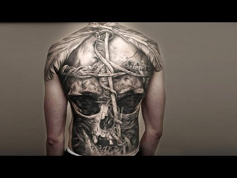 33 Skull Tattoos That Will Take You to Another World