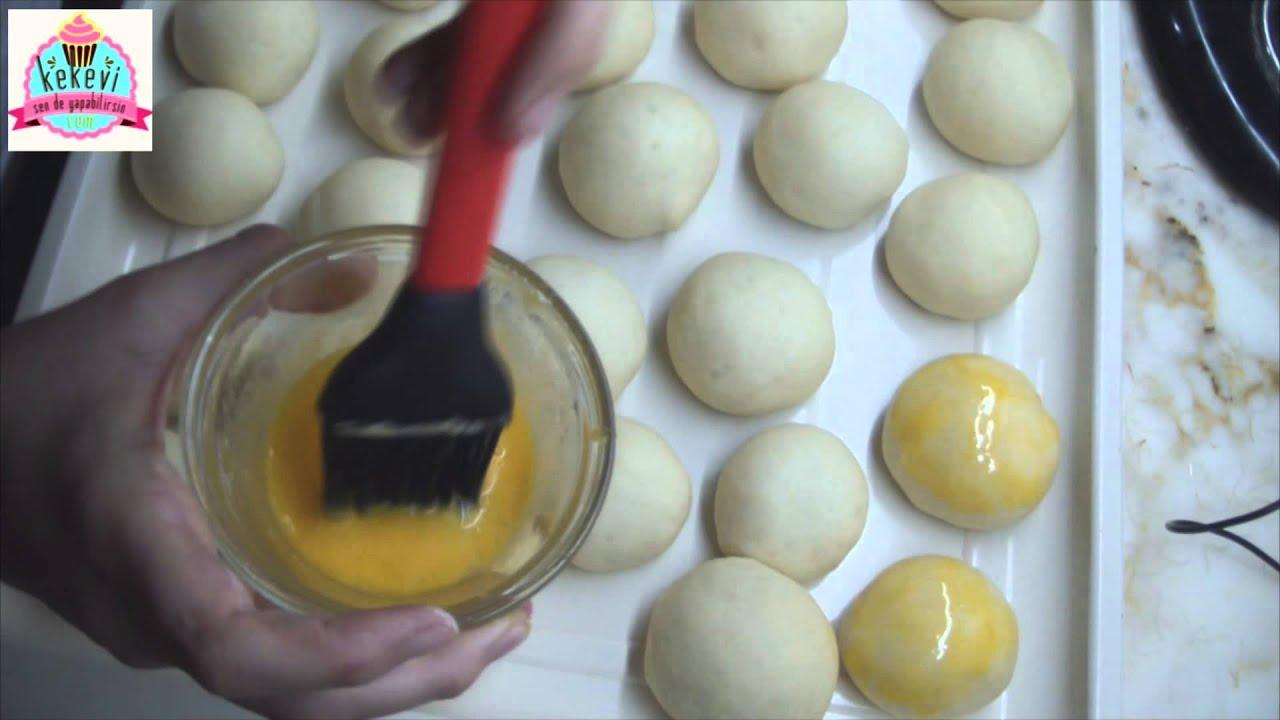 Pastane Usulü Sakallı Poğaça Videosu