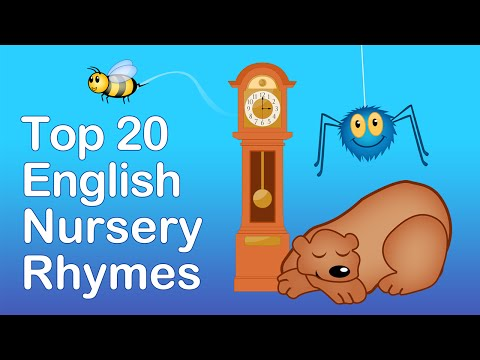 TOP 20 ENGLISH NURSERY RHYMES | Compilation | Nursery Rhymes