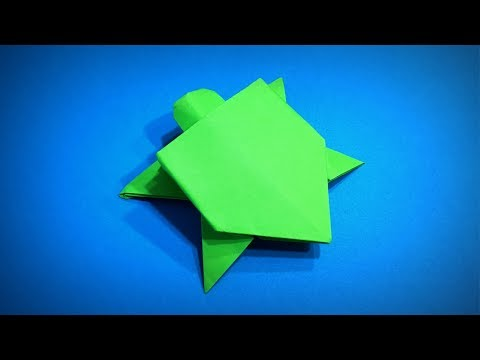 Origami Turtle | How to Make a Paper Turtle (Paper Animals) DIY | Easy Origami ART | Paper Crafts
