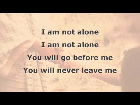 I Am Not Alone Instrumental with lyrics