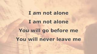 I Am Not Alone Instrumental with lyrics