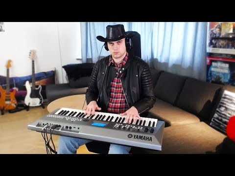 old town road, but played on my synth Mp3