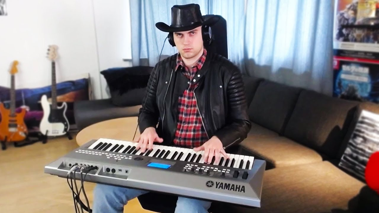 Old town road, but played on my synth image
