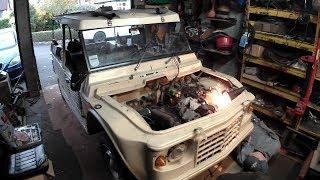 Citroen Mehari engine swap