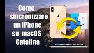 #201 - Come sincronizzare un iPhone con macOS Catalina