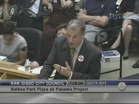 Congressman Bob Filner Speaks at San Diego City Council ...