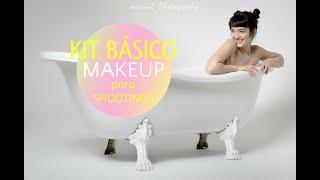 Kit básico de auto-maquillaje para shootings. @ninette_shibara