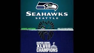 Blue & Green Super Bowl Seahawk Remix ft. T.N.T.