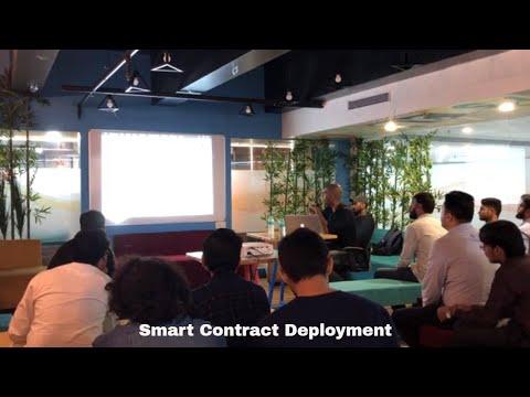 Blockchain Meetup- Smart Contract Deployment