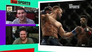 UFC Star Popped Opponent's Knee! | TMZ Sports