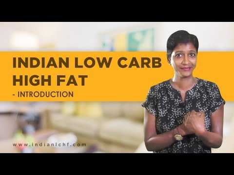 Indian Low Carb High Fat Introduction - English