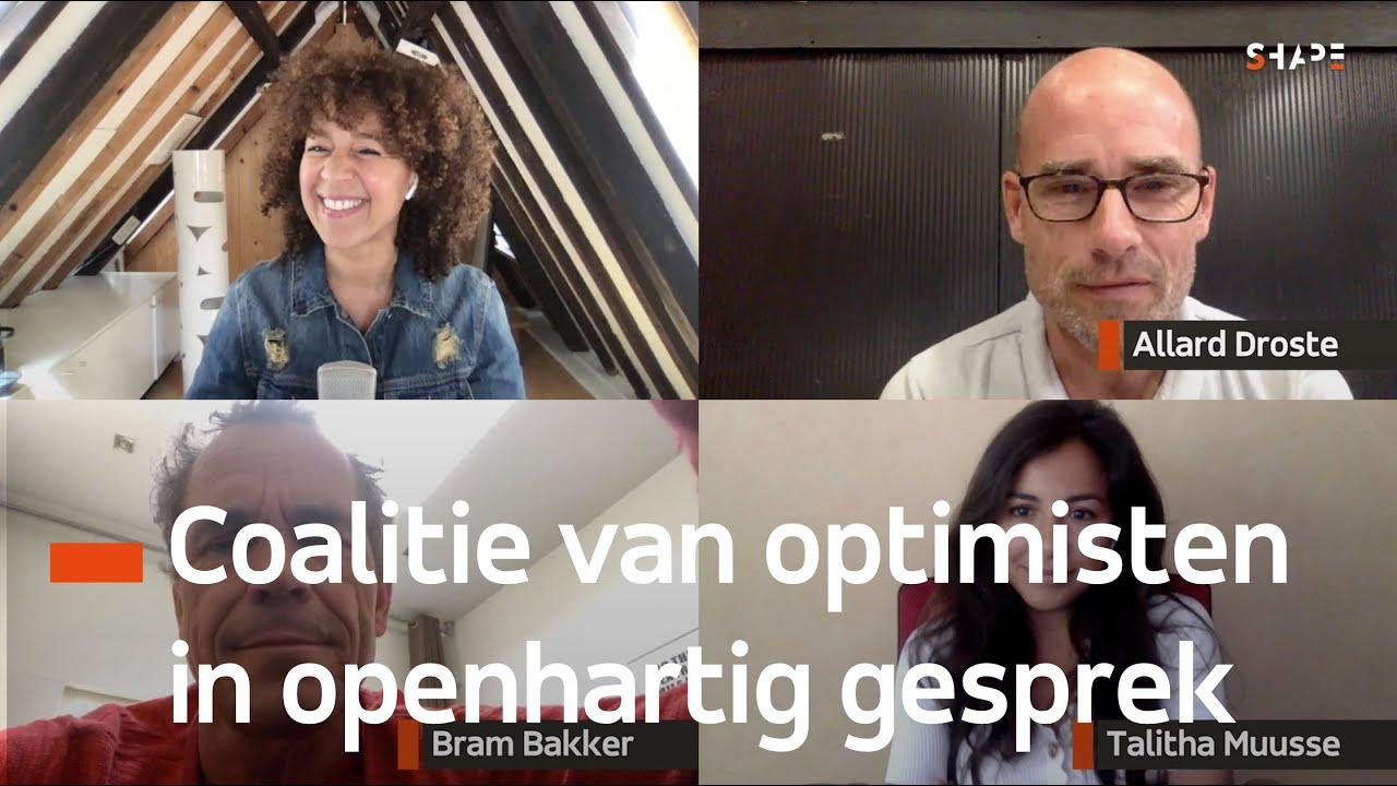 'Coalitie van optimisten voeren openhartig gesprek'   Corona KeukenCast