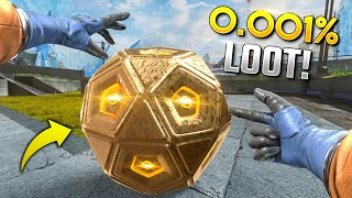What A *0.001%* LOOT BALL LOOKS LIKE!!   Best Apex Legends Funny Moments and Gameplay - Ep. 369