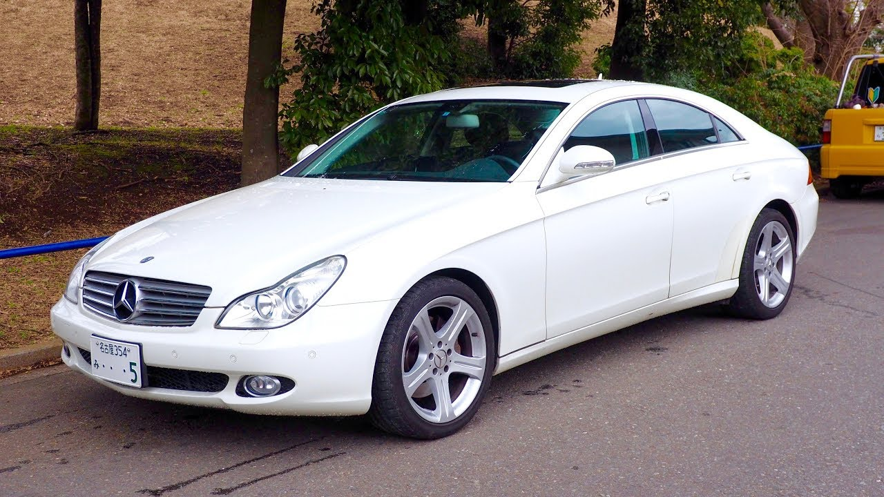 68922c73e48d50 2007 Mercedes Benz CLS350 4-door Coupe (Germany Import) Japan Auction  Purchase Review