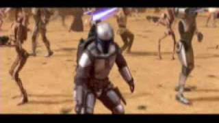Death of Jango Fett
