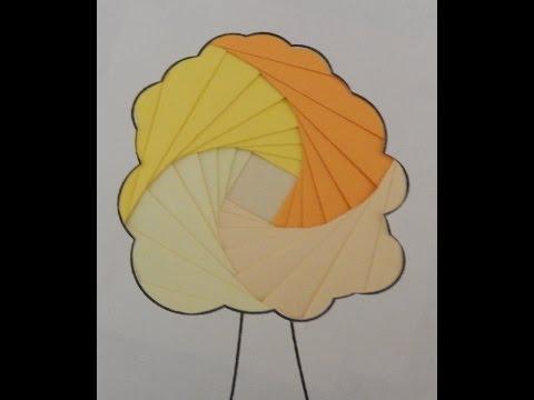 Айрис фолдинг ( Iris folding )