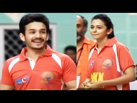 Download Rakul Preet Bowling - Cricket Match @ Memu Saitam Event   TFPC