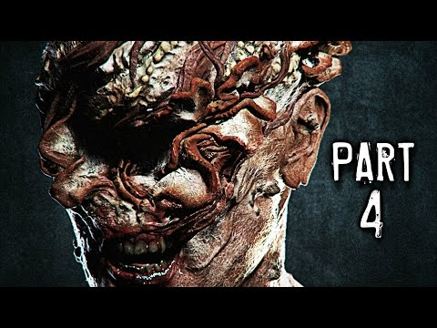 The Last of Us Remastered Gameplay Walkthrough Part 4 - Clickers (PS4)