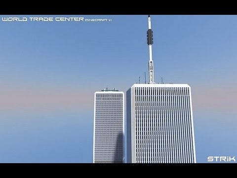 World Trade Center Minecraft 1:1 (Twin Towers) - YouTube