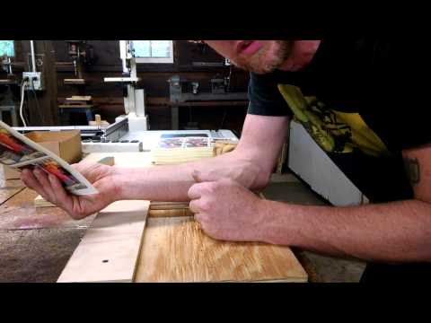 Diy paper cutter on the cheap